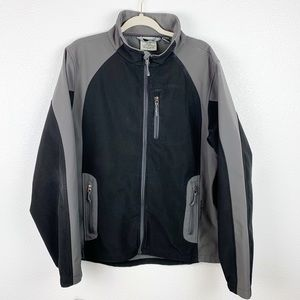 Black Diamond Gray and Black Waterproof Jacket XL